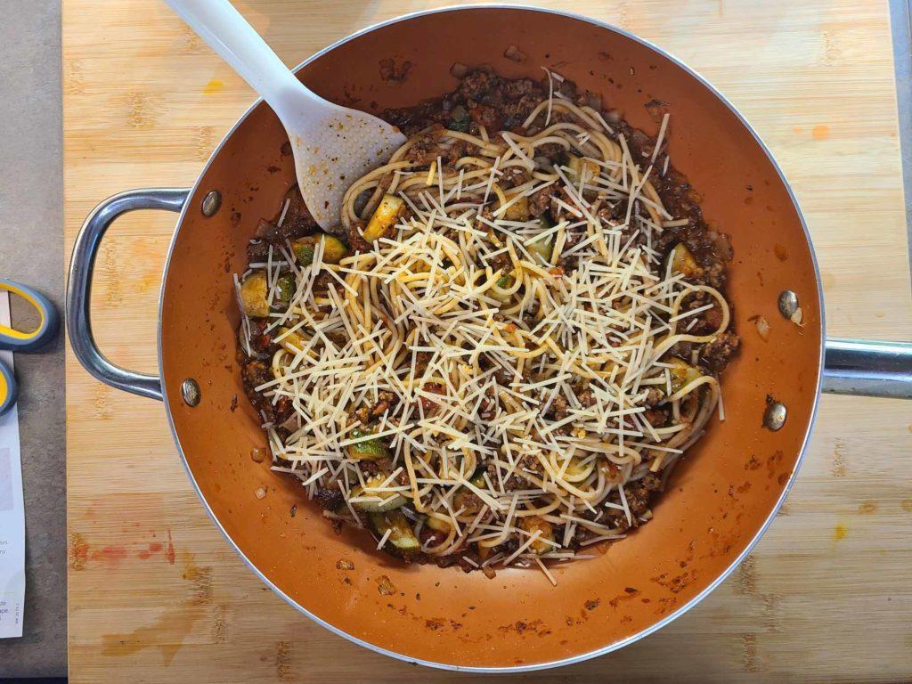 Latest - Beef Ragu Spaghetti